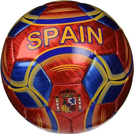 VIZARI España balón de fútbol - 91667-1, Rojo: Amazon.es: Deportes y aire libre