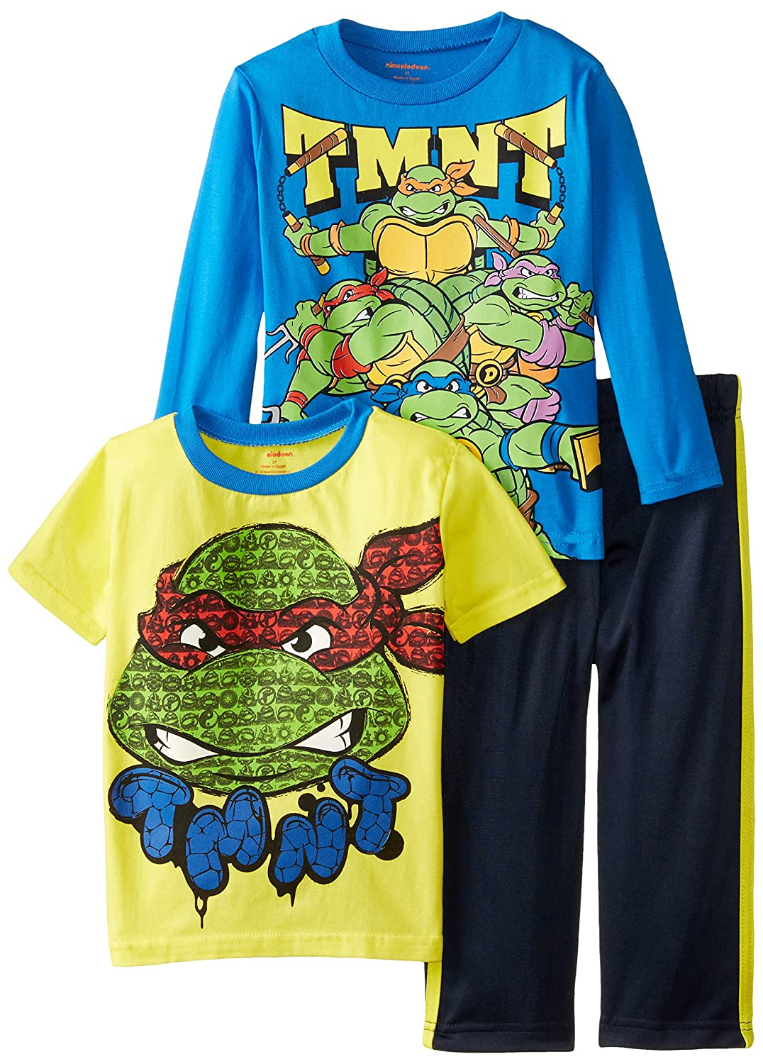 Amazon.com: Nickelodeon Boys Teenage Mutant Ninja Turtles 3 ...