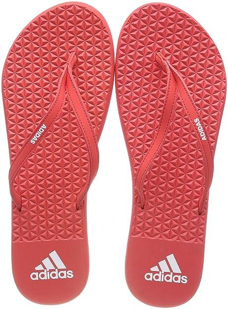 huge discount d25f5 32c88 Adidas Eezay Soft, Chanclas para Mujer, Rojo (Real S18real Coral S18ftwr  Wht), 44 23 EU Amazon.es Zapatos y complementos