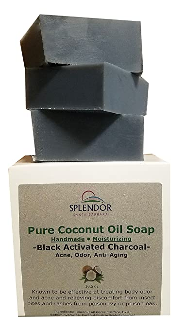Review Black Activated Charcoal Soap