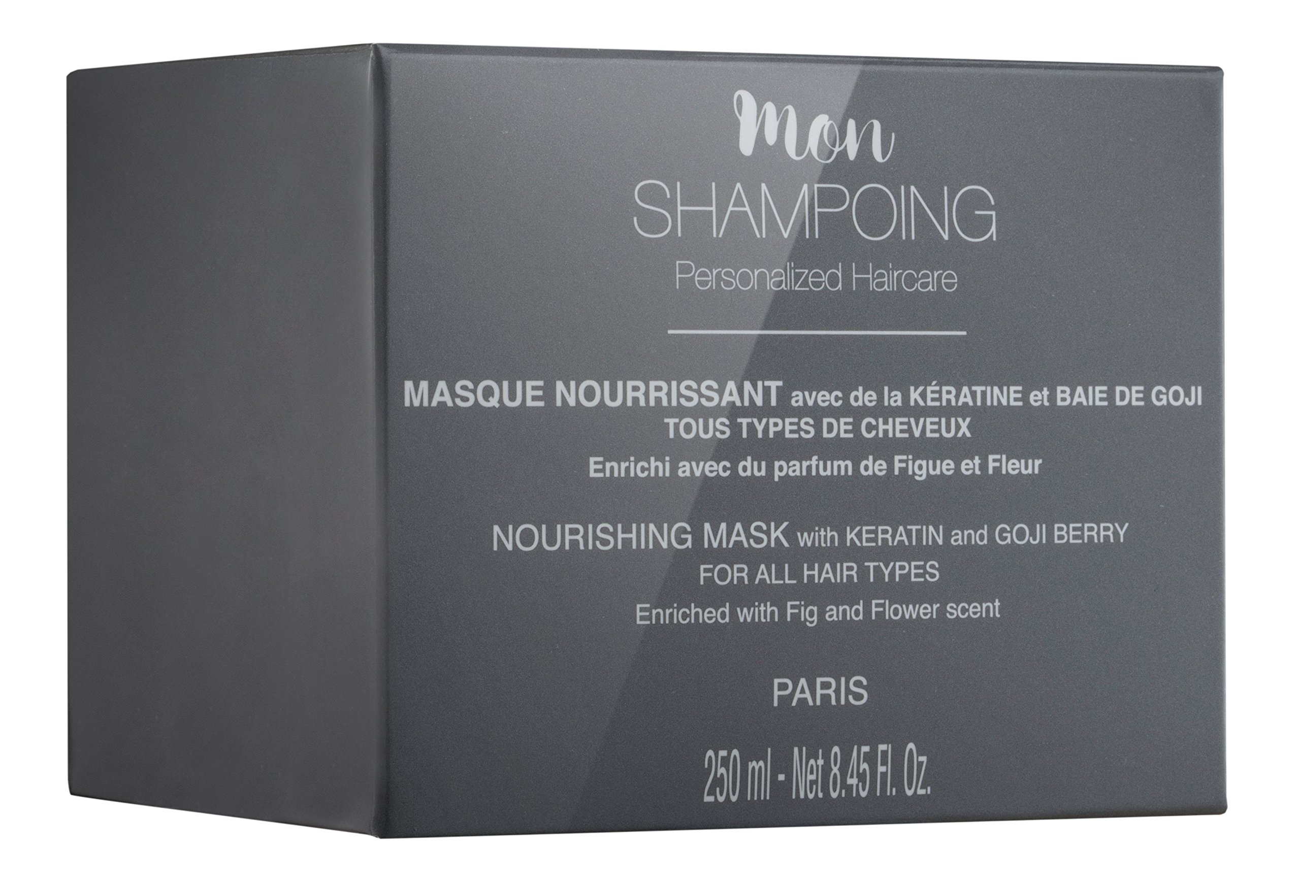 Mon Shampoing nourishing MASK with KERATIN and GOJI BERRY – ALL HAIR TYPES – 250 ml by Mon Shampoing (Image #3)