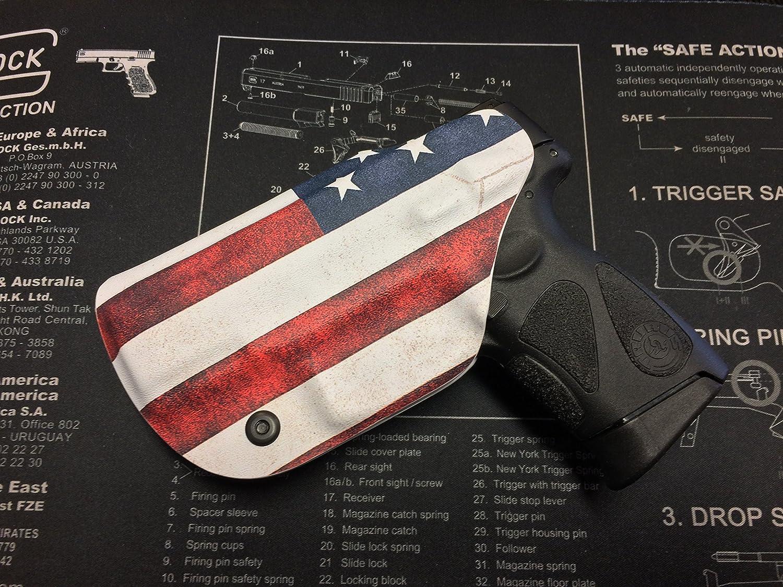 Taurus Pt 111 140 Millennium G2 Kydex Holster 9mm Schematics American Flag Ccw Iwb Right Hand Sports Outdoors