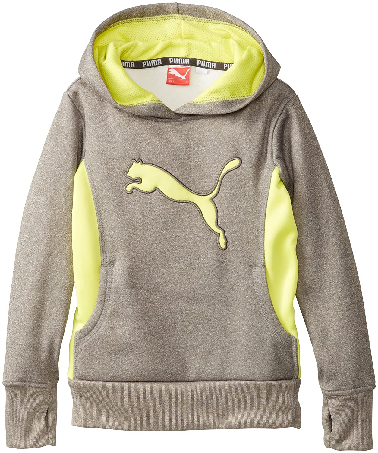 PUMA Little Girls' Cat Hoodie with Thumb Hole 1152002F