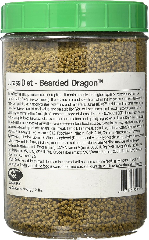 Jurassidiet - Bearded Dragon, 900 G / 2 Lbs