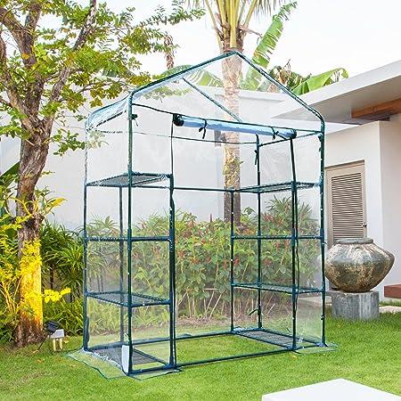 Outsunny Invernadero de Jardín Caseta para Cultivos Plantas ...