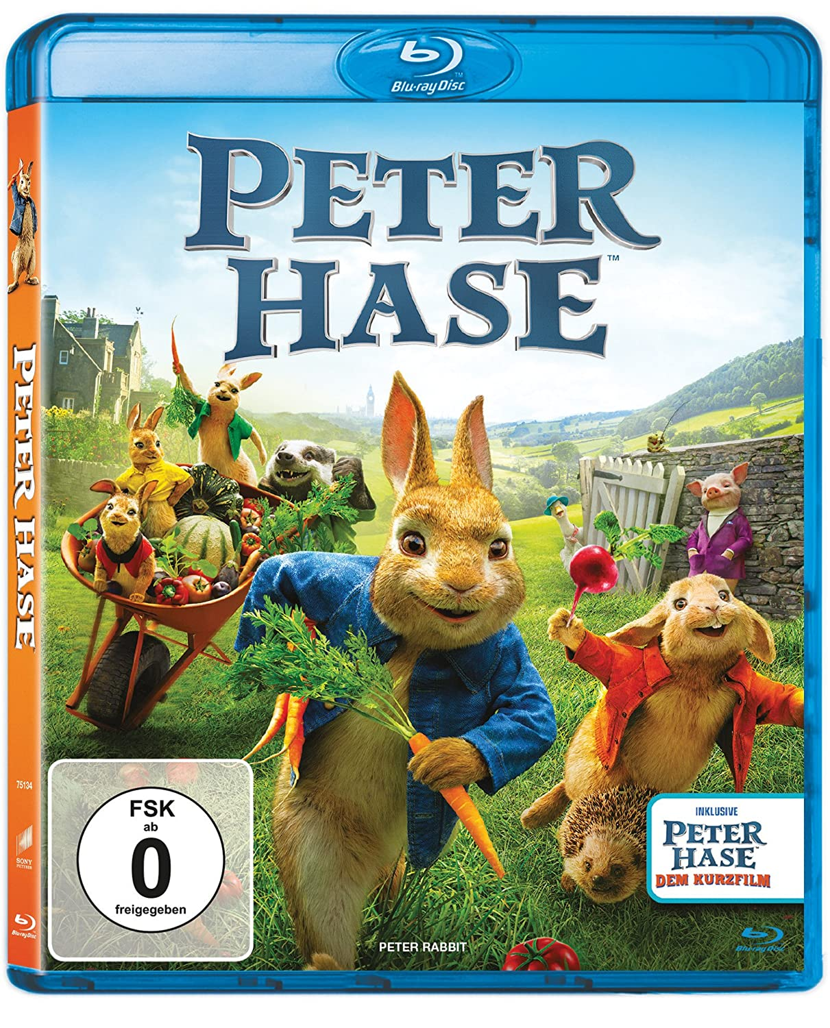 Peter Hase [Blu-ray]: Amazon.de: Christoph Maria Herbst, Heike ...