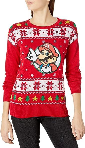 mario christmas sweater