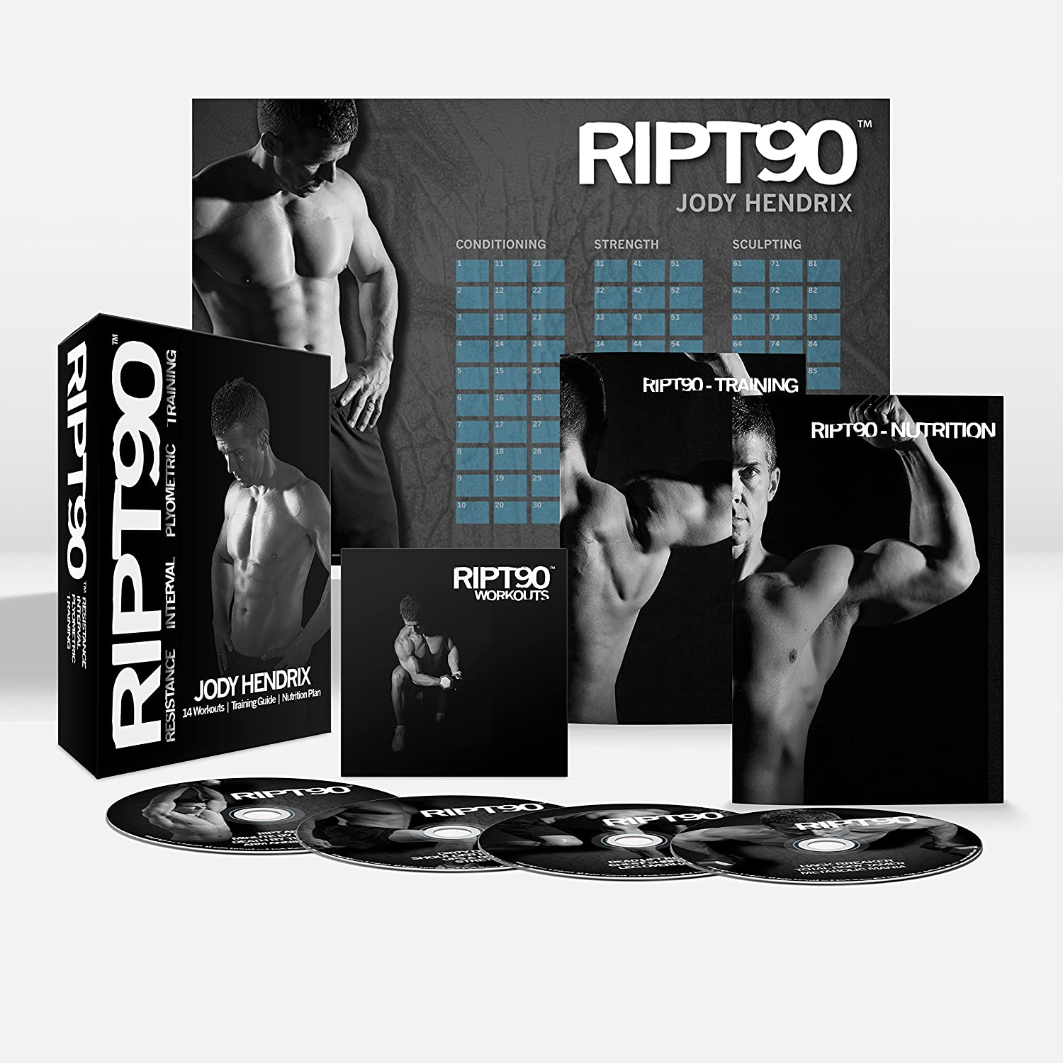 RIPT90: Get Ripped in 90 Days - Complete Home Fitness - 14 ...