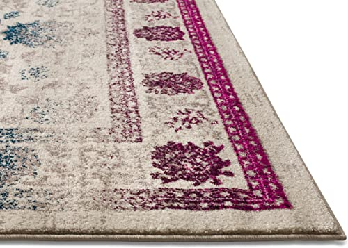 Well Woven Laurent August Boho Modern Mension Multi 5'3″ x 7'3″ Area Rug