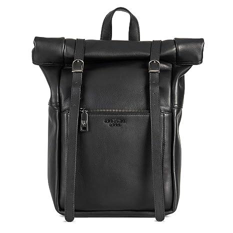 66a60e43e4ac8 Berliner Bags Luxus Rucksack Lille aus echtes Vollnarbiges Leder mit 15  Zoll Laptopfach Hochwertig Kurierrucksack Fahrradrucksack