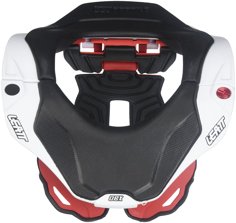 Red//White, Junior Leatt DBX 5.5 Neck Brace