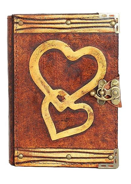 Doble núcleo decoración En Un libro De Luxe-Diario con ...