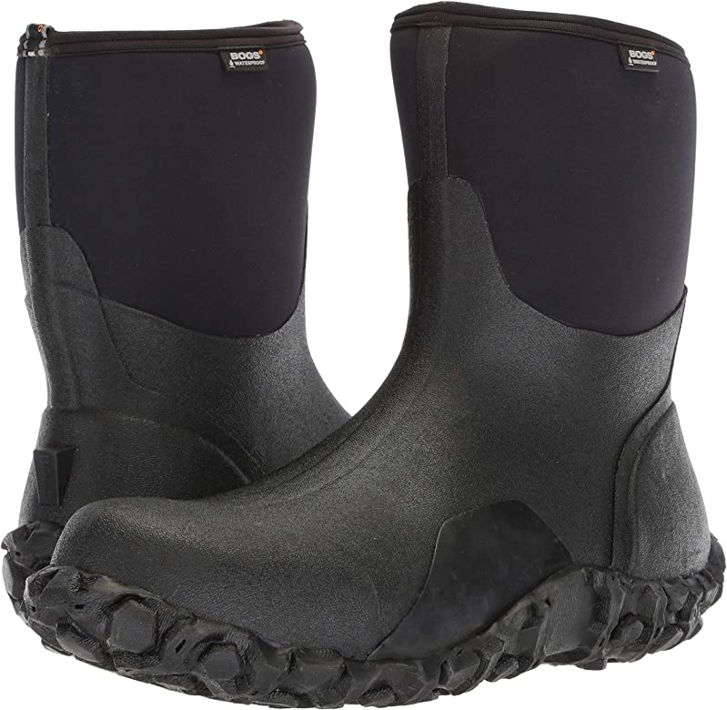 Bogs Mens Classic Mid Waterproof Insulated Rain and Winter
