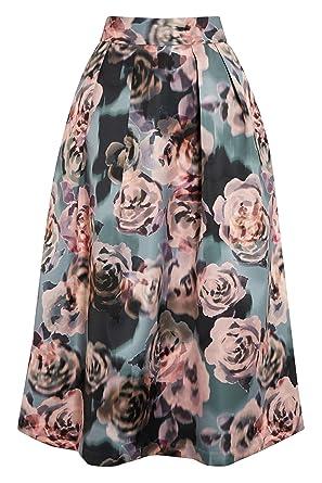 next Mujer Falda Vuelo Petite EU 46 (UK 18): Amazon.es: Ropa y ...