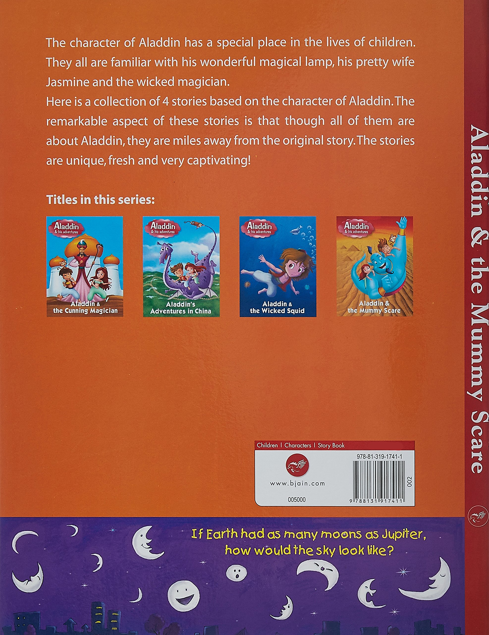 Buy Aladdin Mummy Scare Story Book Books Online At Of Aladin Low Prices In India Reviews Ratings