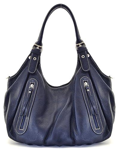 0f43160759 Cuir-Destock sac à main porté main, épaule et bandoulière cuir grainé  modèle righetti