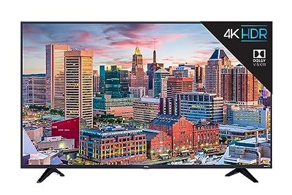 Amazoncom Tcl 65s517 65 Inch 4k Ultra Hd Roku Smart Led Tv 2018