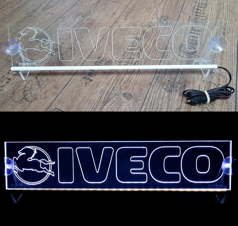 Cabine Camion Accessoires grav/és 24 V//5 W G/én/érique Plaque Lumineuse LED 24 V avec Logo pour camionnette Vert Panneau Lumineux pour d/écoration de Table