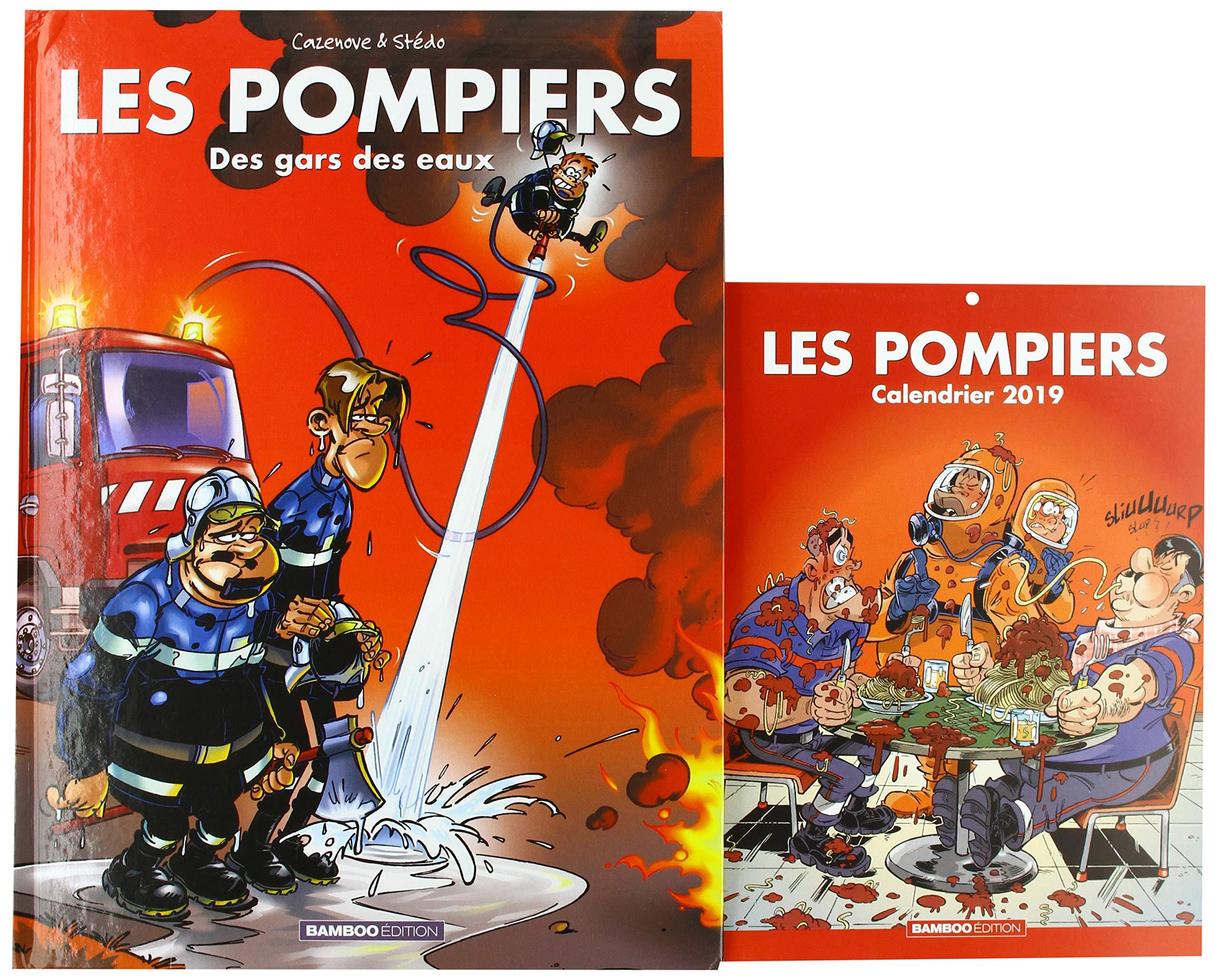 Calendrier Des Feux De L Amour 2019.Amazon Fr Les Pompiers T1 Calendrier 2019 Offert