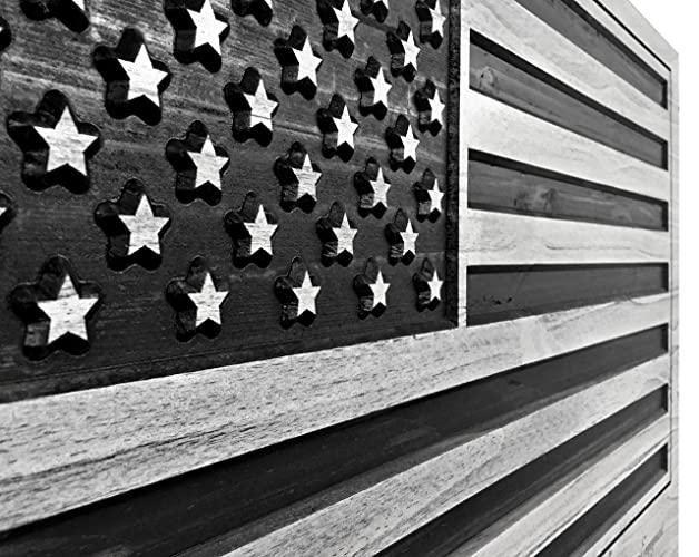 US Flag American Art Wood Wall For United States