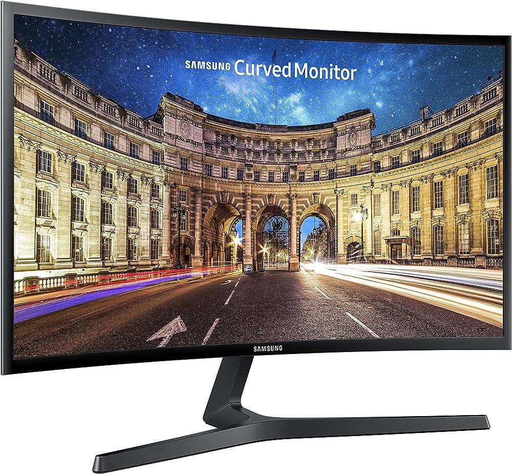Samsung c27f396 monitor curvo per pc, 27`` full hd, 1920 x 1080, 60 hz, 4 ms