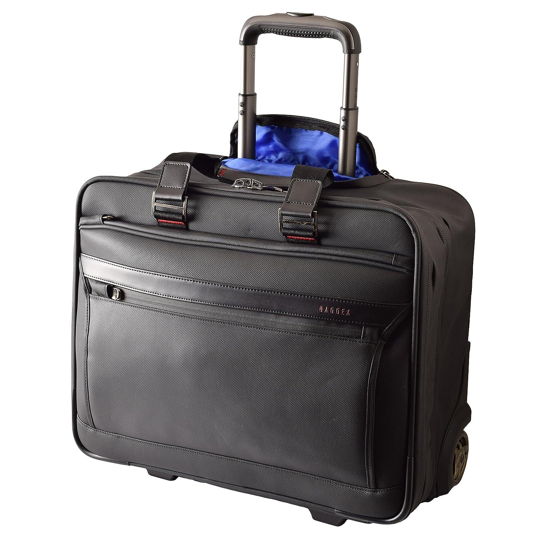 (バジェックス )BAGGEX ビジネスキャリーバッグ 機内持ち込サイズ A3 出張用 撥水 横型 23-5583   B01GZTZLM6