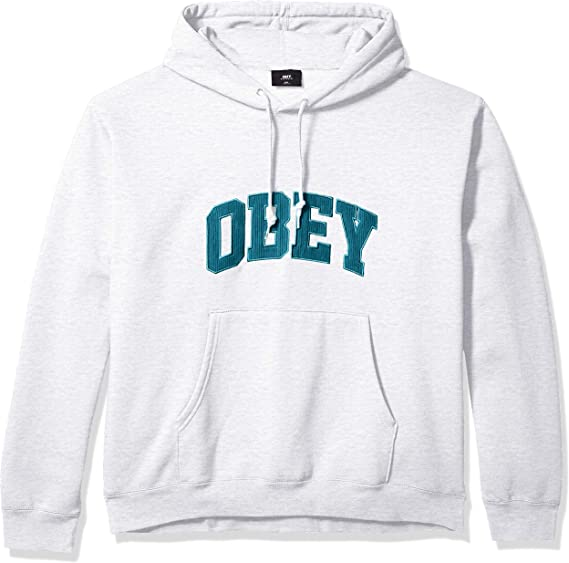 Obey Men's Uni Hooded Sweashirt