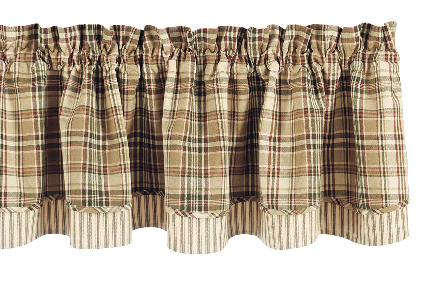 Park Designs Thyme Layer Valance, 72 X 16-Inch 611-471