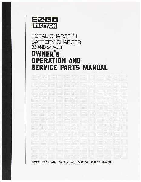 1988 Ezgo Marathon Parts Manual - Data Wiring Diagrams •