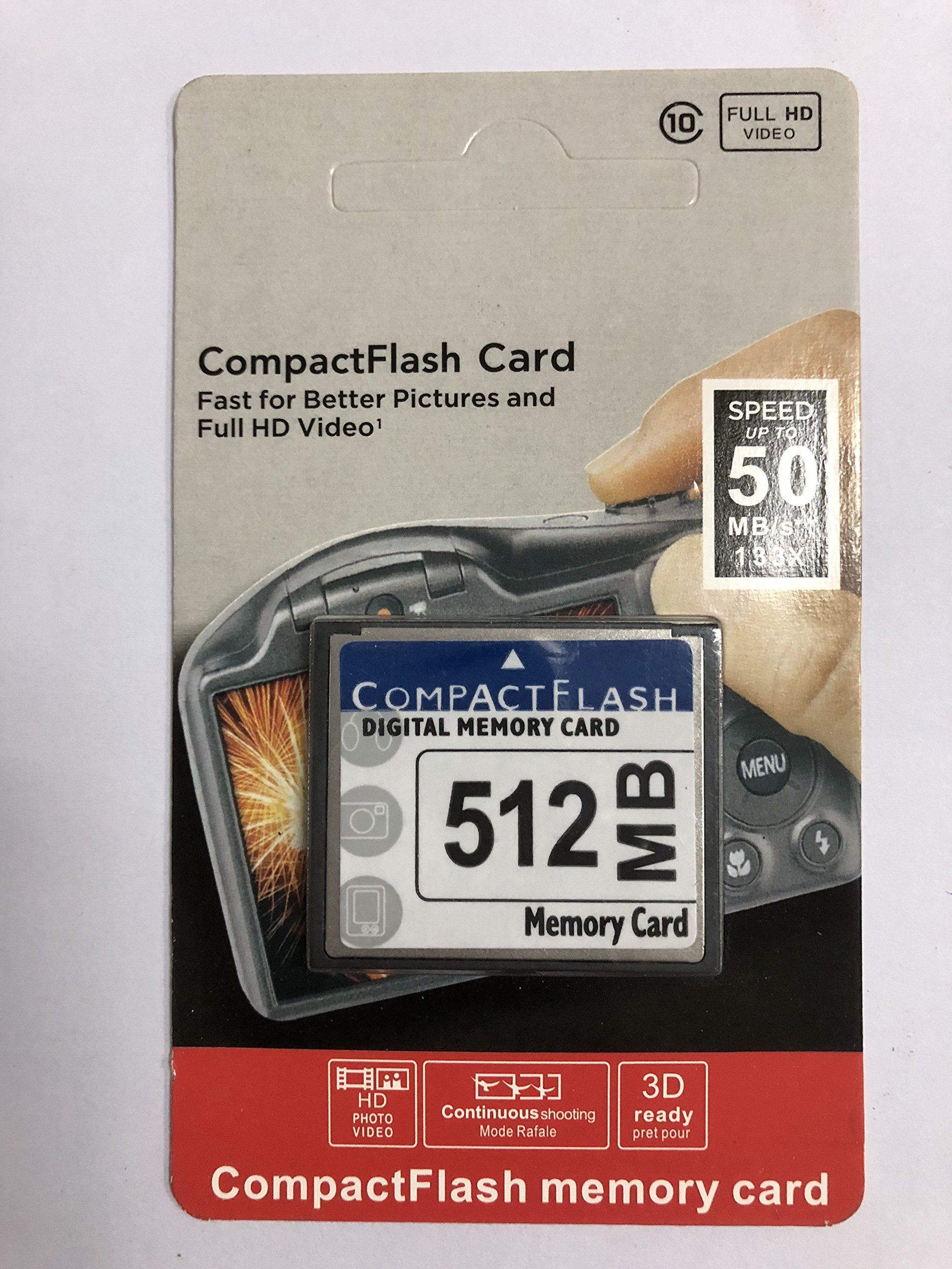 512MB CompactFlash memory card (CF) use for Camera