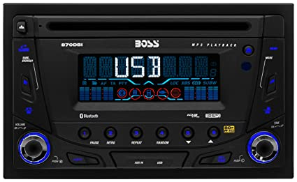 amazon com boss audio 870dbi double din cd mp3 player receiver rh amazon com