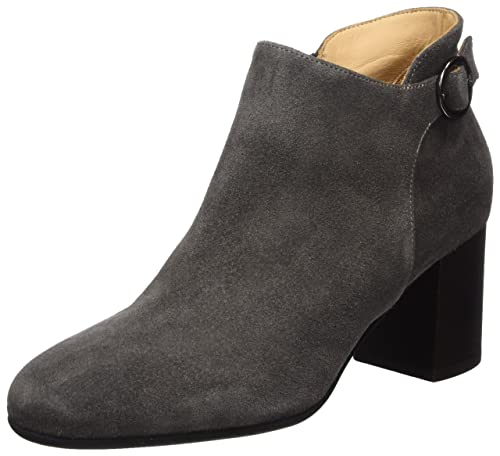 Marc OPolo High Heel Loafer 70814172301303, Botas para Mujer, Gris (Dark