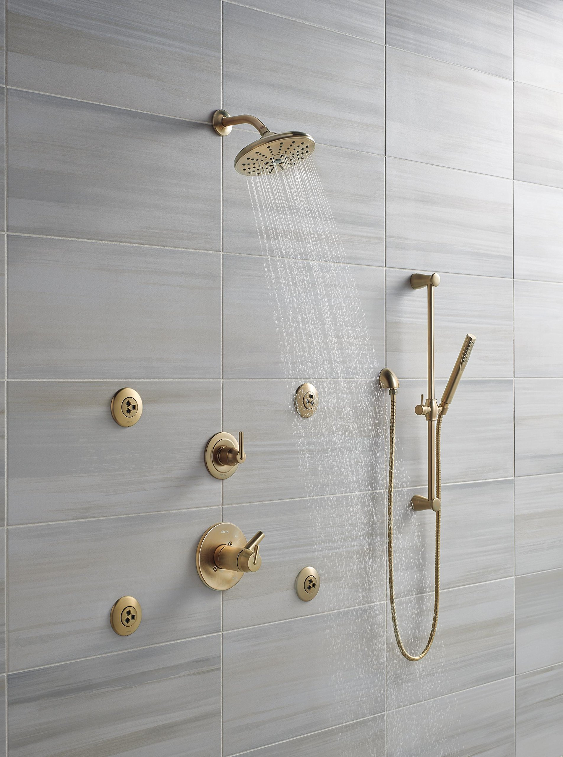 Delta 50560-CZ Wall Elbow For Hand Shower, Champagne Bronze