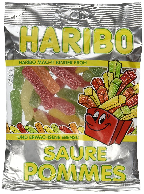Haribo saure de manzana y canela Gummi Candy 200 g: Amazon ...
