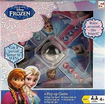 DISNEY FROZEN MINI POP UP FRUSTRATION TYPE POPPING DICE FAMILY KIDS BOARD GAME