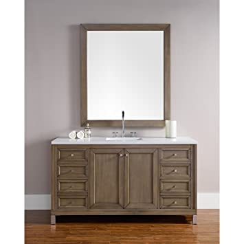 James Martin Chicago 60u0026quot;. Single Bathroom Vanity (Top Not ... Design Ideas