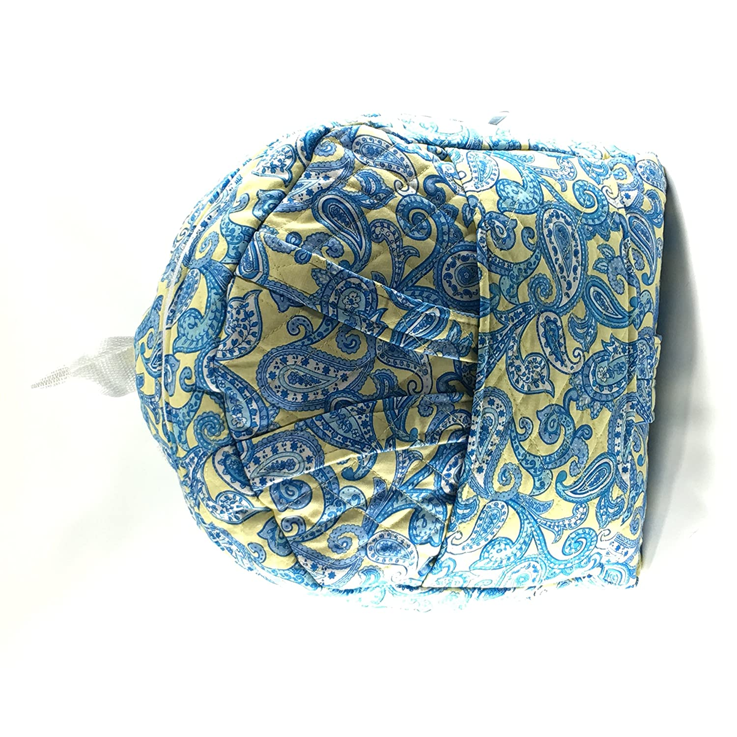Yellow//Blue Paisley Print Tag Along with Doll Carrier