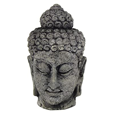 Buddha Head Asian Garden Statues : Garden & Outdoor
