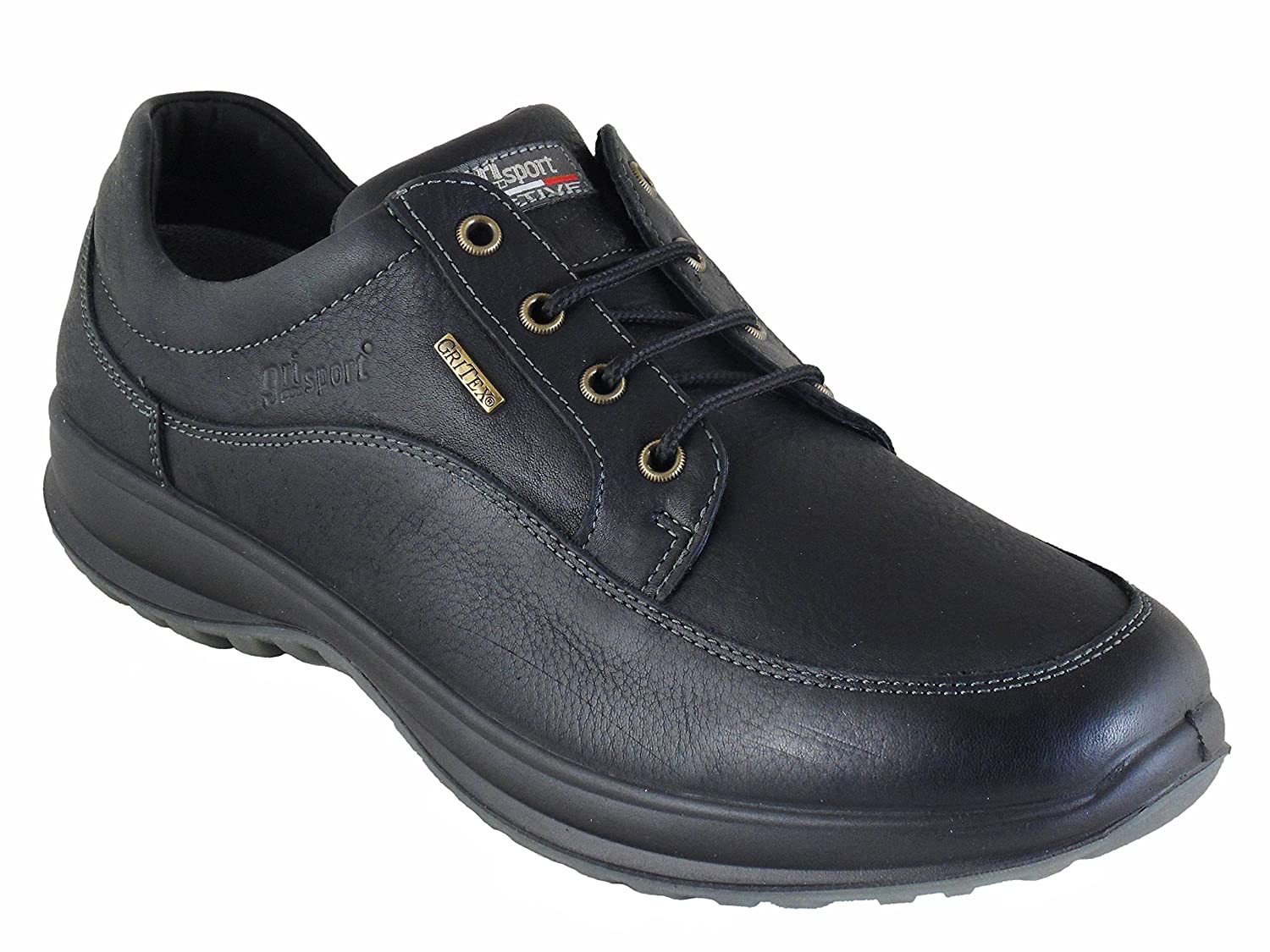 753cd045069 Grisport Livingston Men's Quality Leather Shoes Black