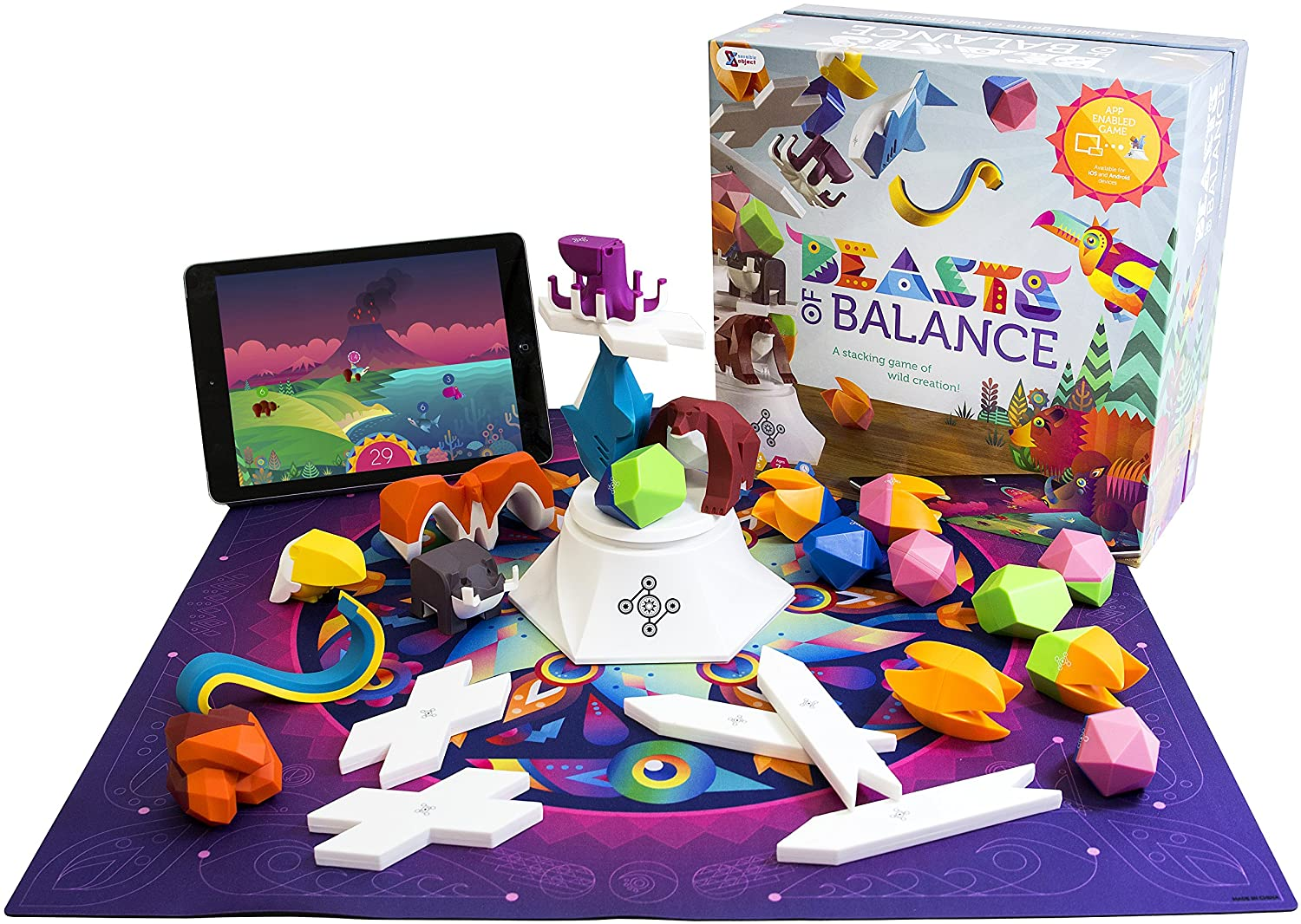 "Brand New-Unopen Beasts Of Balance Digital Stacking Game /""Battles Edition/"""