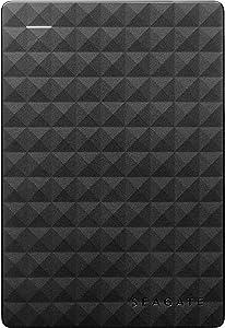 Seagate Expansion 3TB Portable External Hard Drive USB 3.0 (STEA3000400),Black