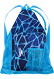 Speedo Deluxe Ventilator Mesh Bag, Charged Blue, One Size