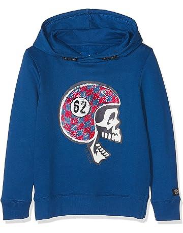 Tom Tailor Sweatshirt with Hood, Chaqueta Deportiva para Niños