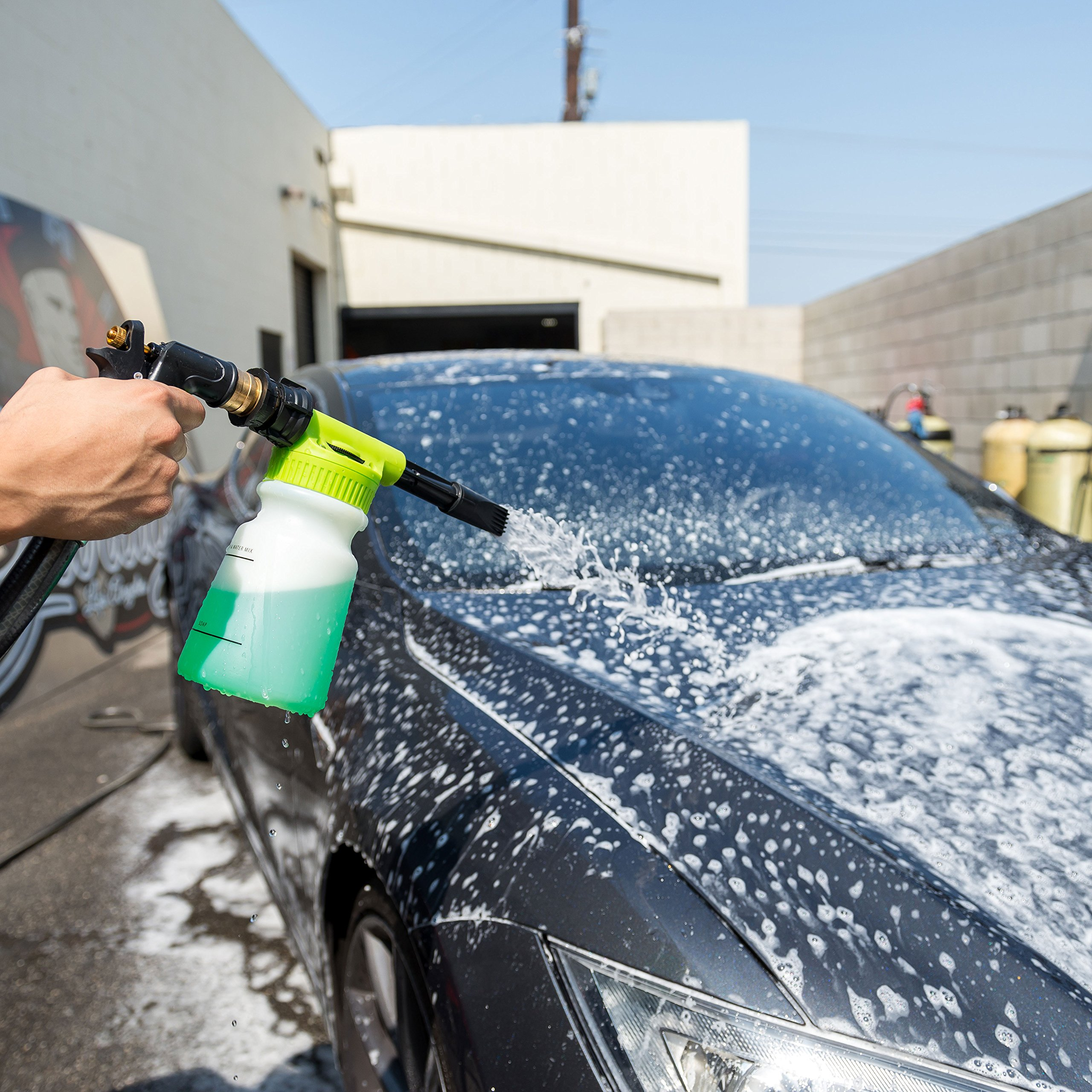 Chemical Guys Acc_326 - TORQ Foam Blaster 6 Foam Wash Gun - The Ultimate Car Wash Foamer That Connects to Any Garden Hose by Chemical Guys (Image #4)