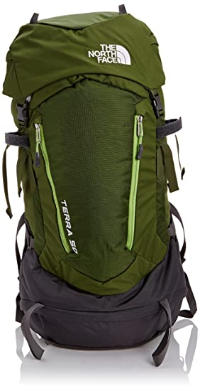 North Face Terra 50 Hiking Backpack Large-XLarge (Scallion Green/Tree Frog Green