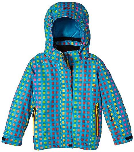 CMP Skijacke - Chaqueta de esquí para niña, color turquesa, talla 98