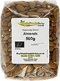 Buy Whole Foods Organic Almonds 500 g