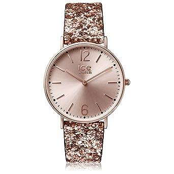 52d152fc577ec Ice-Watch - City Madame Brown - Montre Marron pour Femme avec Bracelet en  Nylon