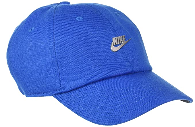 f1f2fb0a7 Nike NSW H86 Metal Futura Unisex Adjustable Hat Cap Obsidian Heather/Silver  891287-473