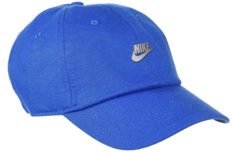 Nike Heritage 86 Gorra, Blue Nebula/Black/Matte Silver, Talla ...